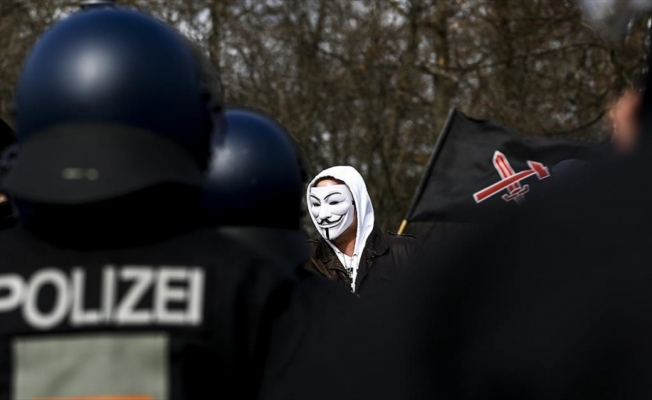 Almanya'da aşırı sağcılar tarafından işlenen suçlar 2020'de en yüksek seviyeye ulaştı