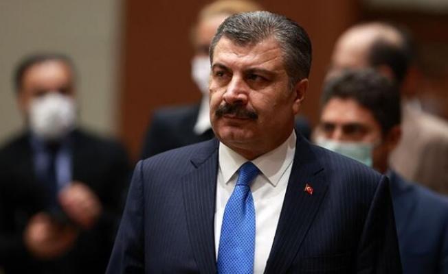 Bakan Fahrettin Koca 'test' iddiasını yalanladı.