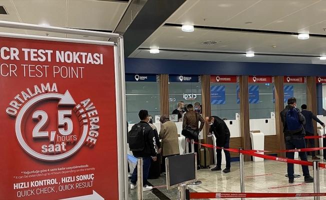 Bazı ülkelerden Türkiye'ye uçakla gelecek yolculardan 15 Mayıs'tan itibaren PCR testi istenmeyecek