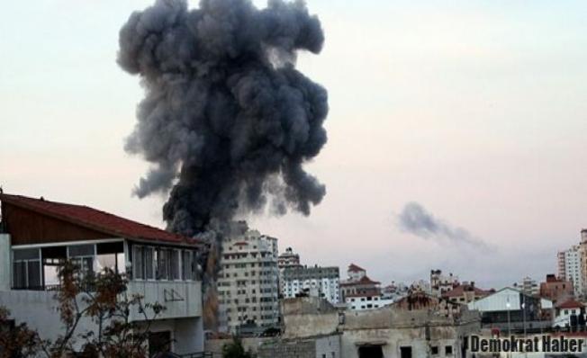 Füzelerle İsrail'i vurdular, ölü ve yaralılar var