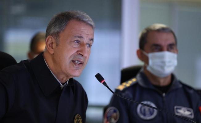 Milli Savunma Bakanı Akar: Pençe-Şimşek ve Pençe-Yıldırım operasyonlarında 7 terörist etkisiz hale getirildi