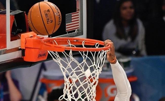 NBA'de Wizards forması giyen Westbrook'tan 20 asist, 20 ribauntluk performans