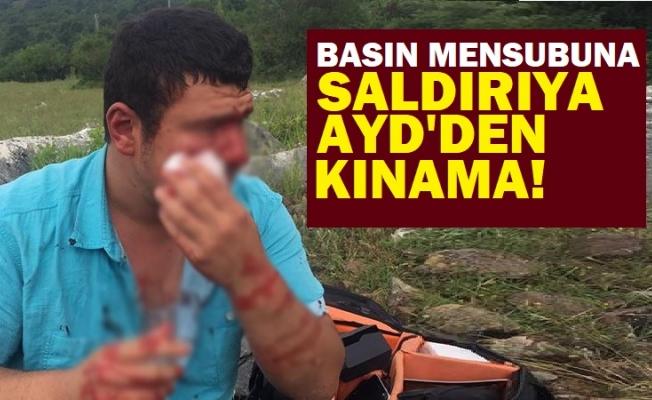 """AYD:""""İHA Muhabirine saldırıyı kınıyoruz"""""""