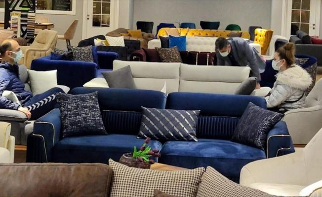 Cumartesi alışverişleri mobilya piyasasını hareketlendirdi