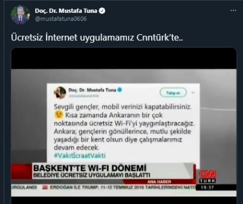 Mansur Yavaş'ın online yalanı!