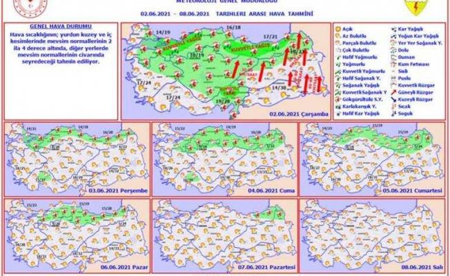 Meteoroloji ve AFAD'tan uyarı! Kuvvetli geliyor