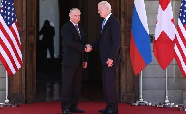 Putin ve Biden'dan ortak bildiri: Nükleer bir savaşın asla başlatılmamasına yönelik bağlılığımızı teyit ediyoruz