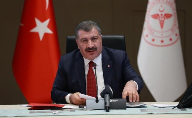 """Sağlık Bakanı Koca: """"Salgın iyice geriledi, yenileceği gün çok yakın"""""""
