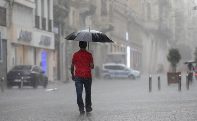 Trakya ve İstanbul için kuvvetli yağış uyarısı
