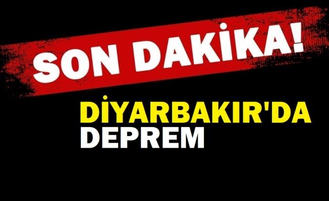 Diyarbakır'da deprem! Çevre illerde de hissedildi