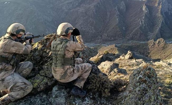 Eren-15 Operasyonunda PKK'lı 3 terörist etkisiz hale getirildi