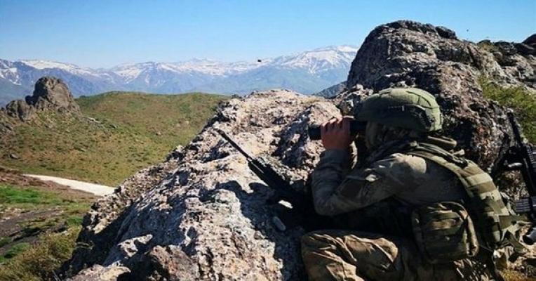 Hakurk'ta 3 PKK'lı terörist etkisiz hale getirildi