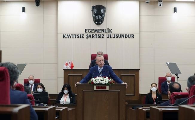 Kıbrıs Barış Harekatı'nın beş gazisi, Cumhurbaşkanı Erdoğan'la yaptıkları KKTC ziyaretini anlattı