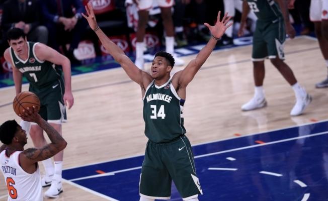 NBA'de final serisinin en değerli oyuncusu Giannis Antetokounmpo seçildi