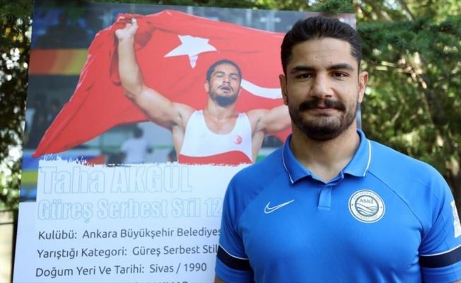 Olimpiyat şampiyonu milli güreşçi Taha Akgül, Tokyo'da da zirveyi hedefliyor