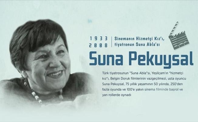Suna Pekuysal'ın vefatının üzerinden 13 yıl geçti