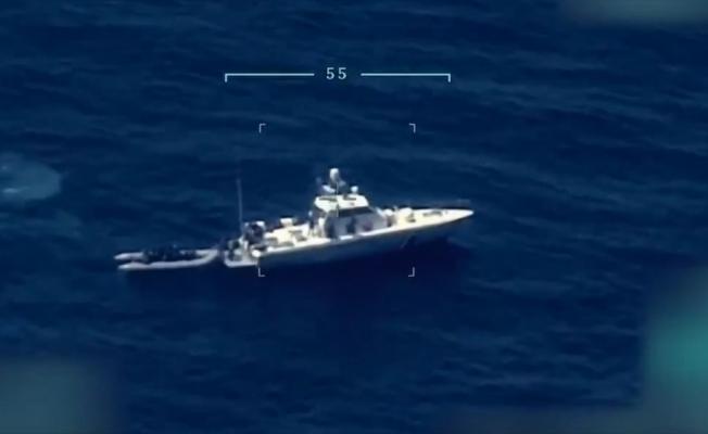 Türk kara sularına geri itilen 15 düzensiz göçmen kurtarıldı