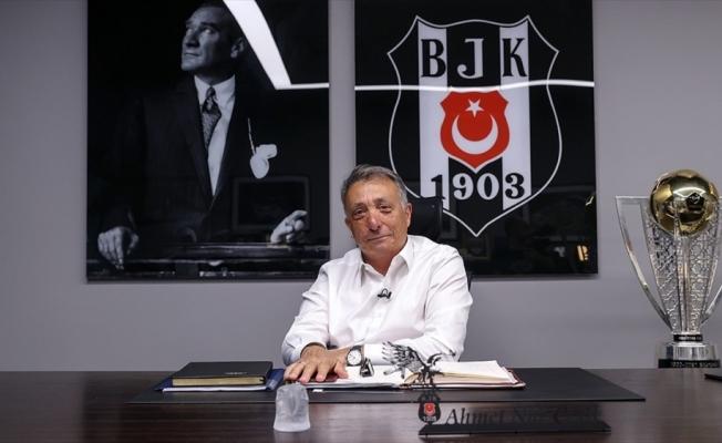 Beşiktaş Kulübü Başkanı Çebi, siyah-beyazlı taraftarlara destek çağrısı yaptı