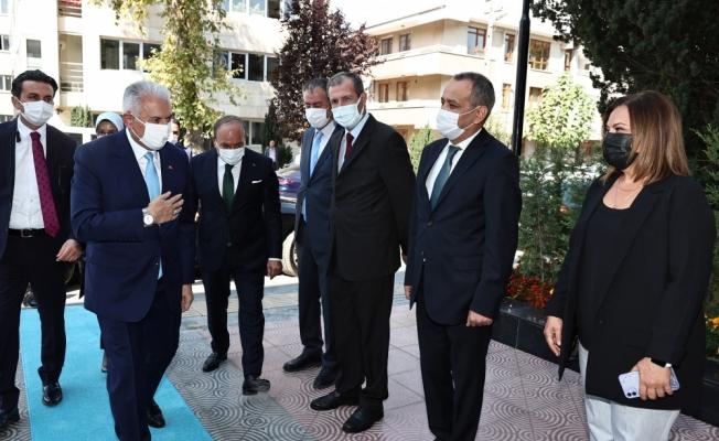 AK Parti Genel Başkanvekili Yıldırım, Hoca Ahmet Yesevi Üniversitesinin eğitim yılı açılışında konuştu: