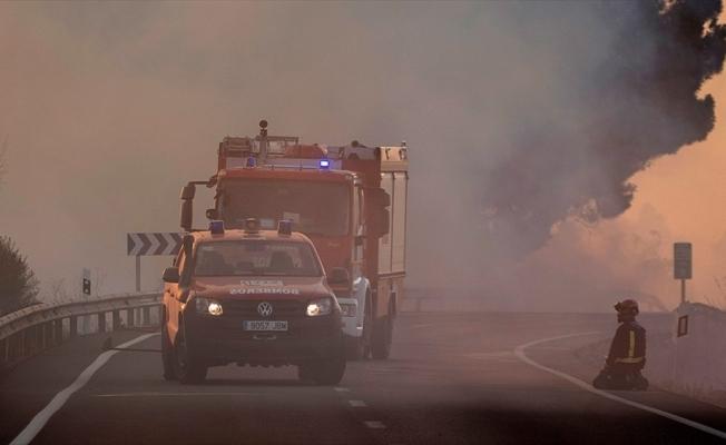 İspanya'nın güneyindeki yangınlarda 6 bin hektardan fazla alan kül oldu