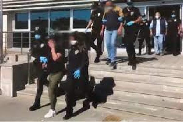 Konya'da suç örgütüne yönelik operasyonda 13 şüpheliden 3'ü tutuklandı