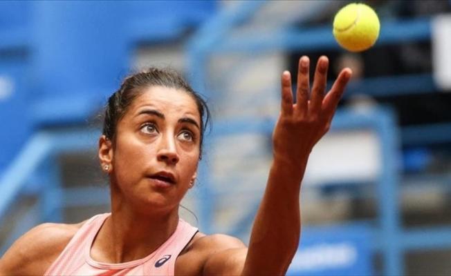 Milli tenisçi Çağla Büyükakçay, İsviçre'de yarı finale yükseldi