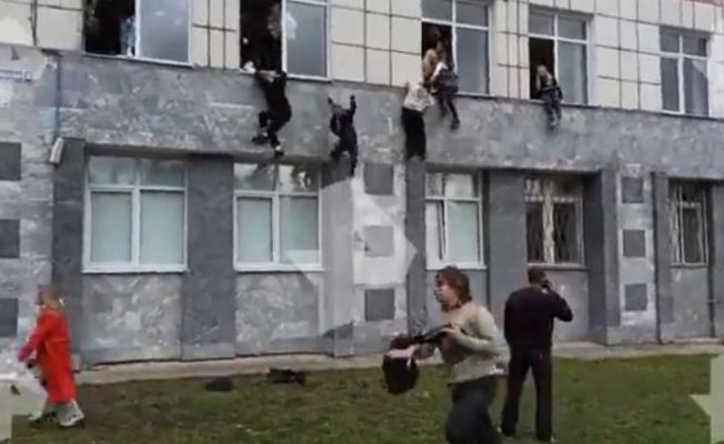 Rusya'da silahlı saldırı: Ölü ve yaralılar var