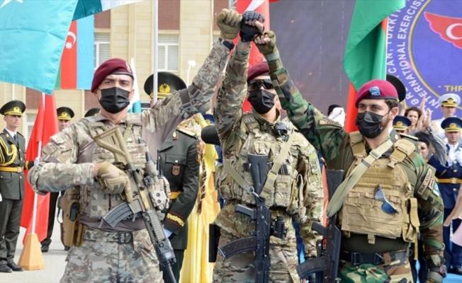 Türkiye, Azerbaycan ve Pakistan özel kuvvetleri Bakü'de ortak tatbikata başladı
