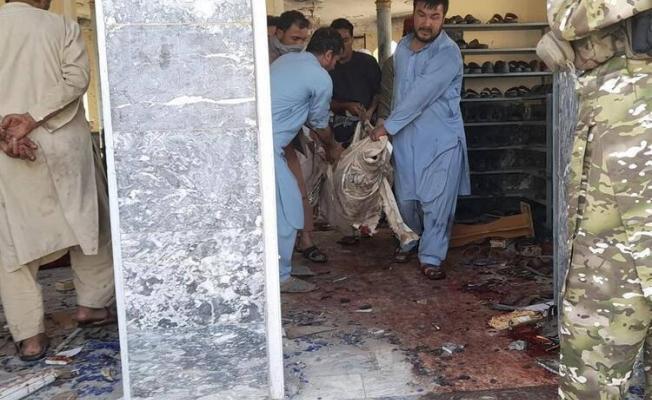 Afganistan'da camiye korkunç saldırı