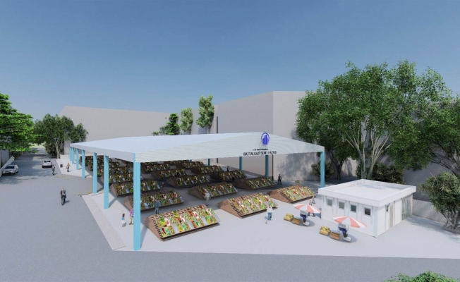 Altındağ'a yeni semt pazarı