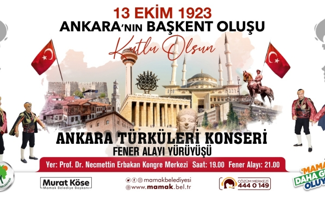 Ankara'nın Başkent oluşu görkemli bir törenle kutlanacak