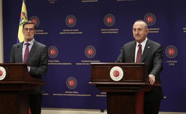 Bakan Çavuşoğlu: Amerikan yönetimi Kongre'ye mektup yollarken ya da Amerikan halkına bilgi verirken doğruyu söylemiyor