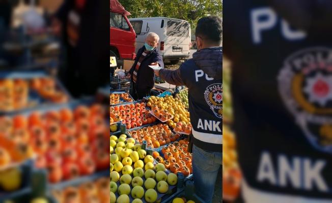Beypazarı'nda polis ekipleri denetimlerini artırdı