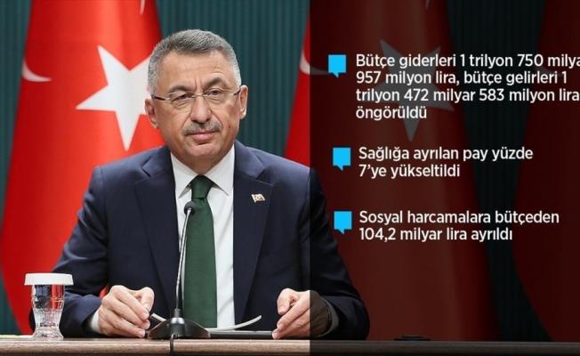 Cumhurbaşkanı Yardımcısı Oktay: 2022 yılı bütçesi yeşil kalkınma devrimi gibi milli hedeflerimizde kilometre taşı olacak