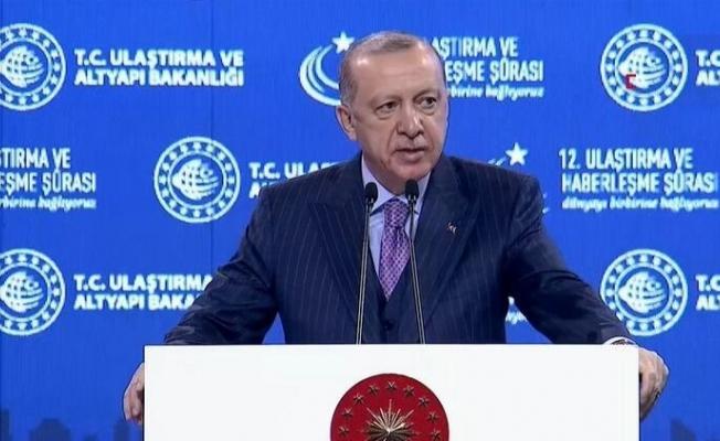 Erdoğan: Milli elektrikli lokomotifimizin üretimine başlıyoruz