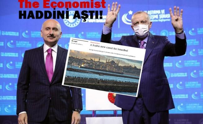 The Economist'in Kanal İstanbul hazımsızlığı