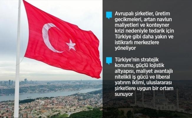 Türkiye küresel tedarik zincirinin yeni merkez üssü olma yolunda