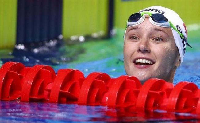 Viktoria Zeynep Güneş, Dünya Yüzme Kupası'nda bronz madalya kazandı