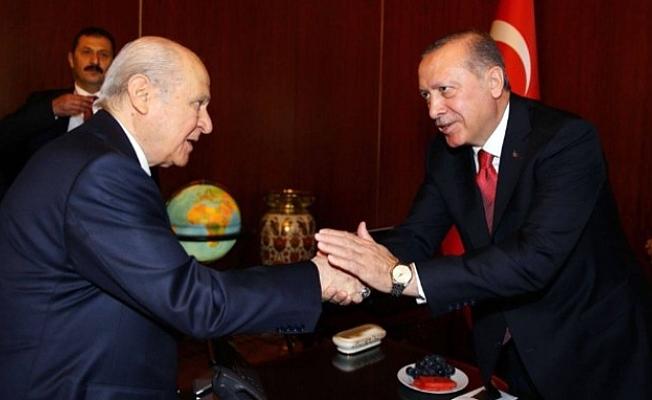 Erdoğan ile Bahçeli 6 ilde ittifak için görüşme gerçekleştirdi