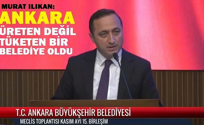 Ankara Büyükşehir Yatırımda en başarısız belediye oldu.