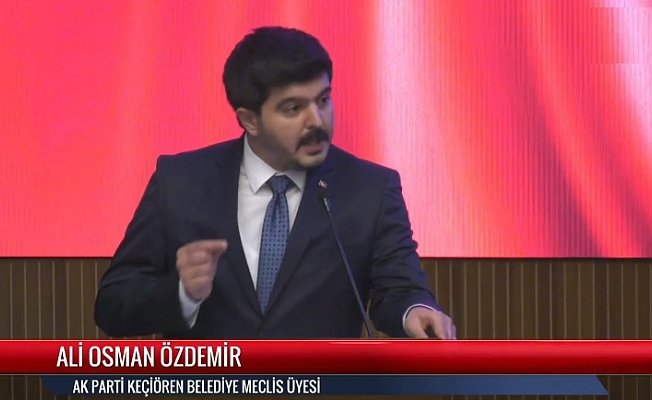 Ali Osman Özdemir gençlerin sorunlarını meclise taşıdı