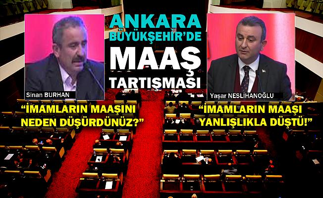 Ankara Belediyesi imam maaşlarını yanlışlıkla düşürmüş!