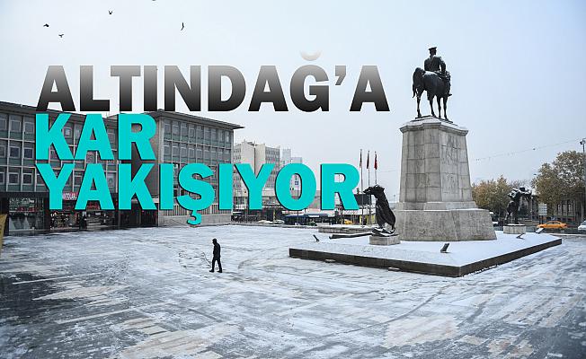 Altındağ'da Kar Manzaraları