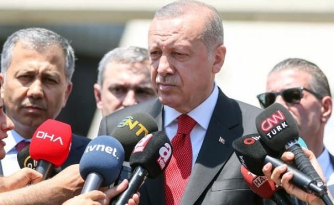 Erdoğan merak edilen soruyu cevapladı: Yangınlarda sabotaj var mı?