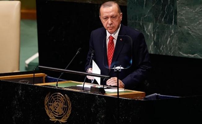 Cumhurbaşkanı Erdoğan BM'de müjdeyi duyurdu