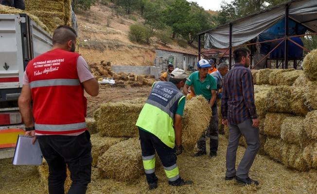 Altındağ Belediyesi'nden sel mağdurlarına destek