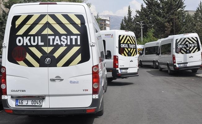 Ülke genelinde denetim: 548 okul servis aracı trafikten men edildi