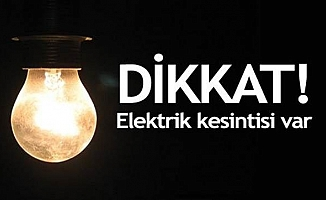 Ankara'da üç günlük elektrik kesintisi / 30 Haziran, 1 -2 Temmuz 2017