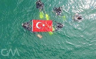 Ankara'nın dalgıçları Türkiye'ye örnek oldu