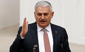 Binali Yıldırım: ''15 Temmuz çılgın Türklerin tankları ezdiği gündür''